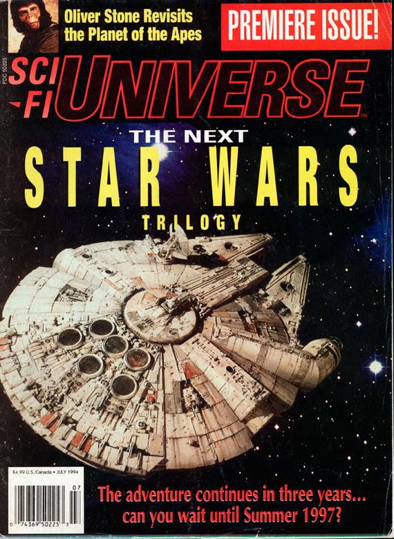 Star Wars och Kockumskranen, tjugo år senare.