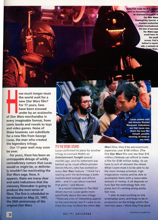 Scifi Universe nr 1 1994  - Sida 2